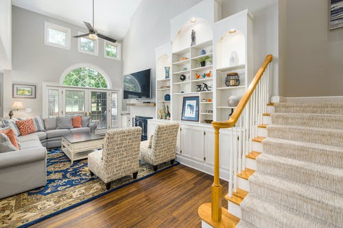 Foto profissional grátis de abajur, apartamento, arquitetura