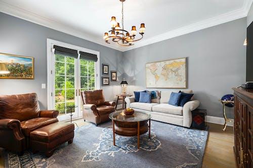 Foto profissional grátis de abajur, apartamento, assento
