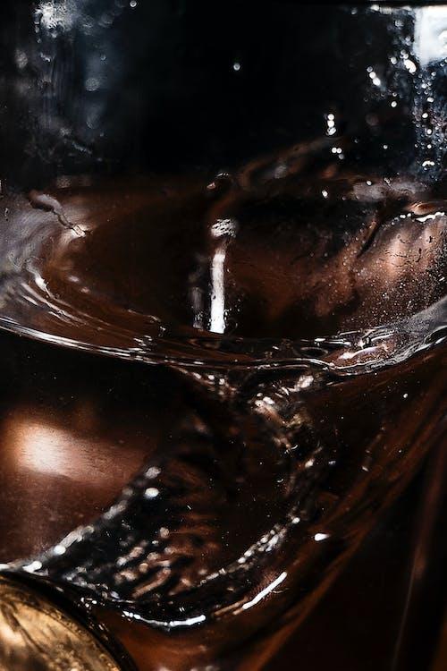 Immagine gratuita di acqua, bicchiere, grunge, marrone