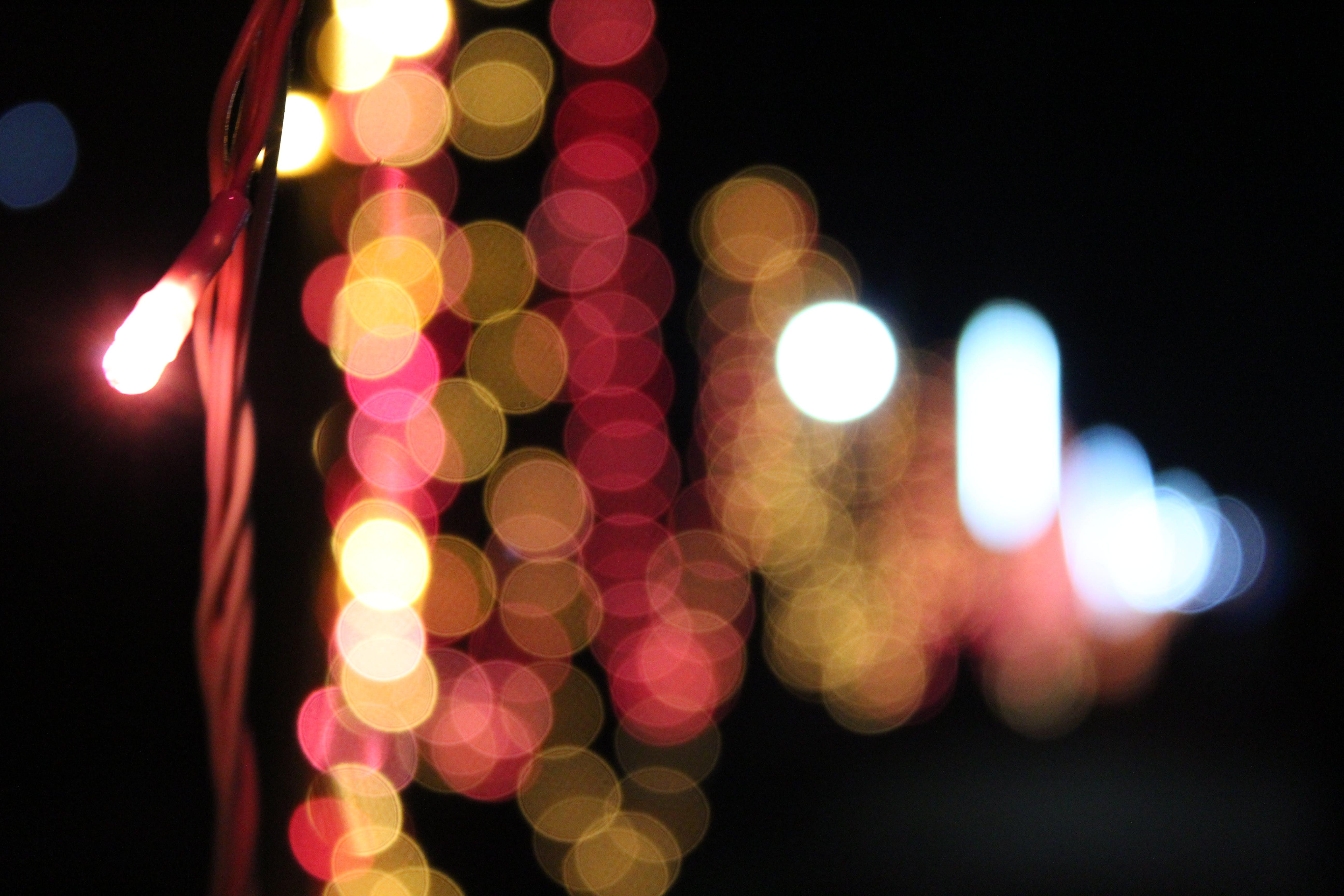Free stock photo of #lights #bokeh