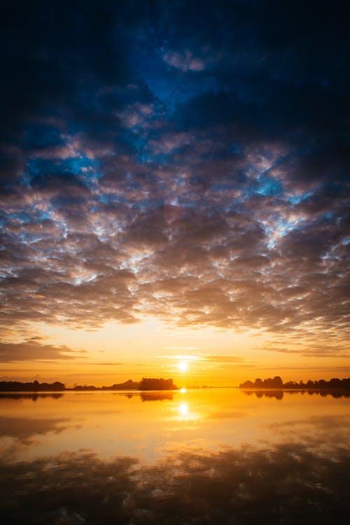 反射, 多雲的, 天性, 天空 的 免費圖庫相片