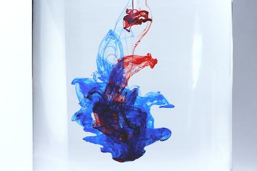 Gratis arkivbilde med #colors #colours #blue #red #water #ink #light