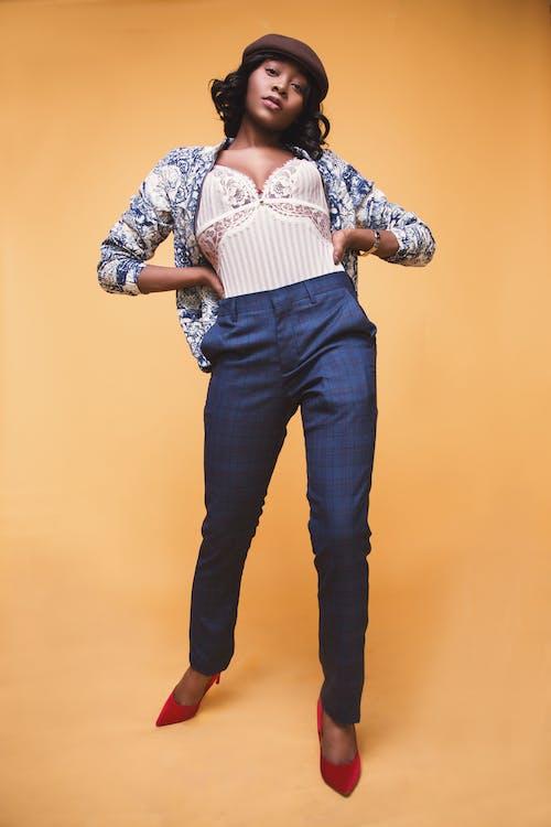 Free stock photo of fashion model