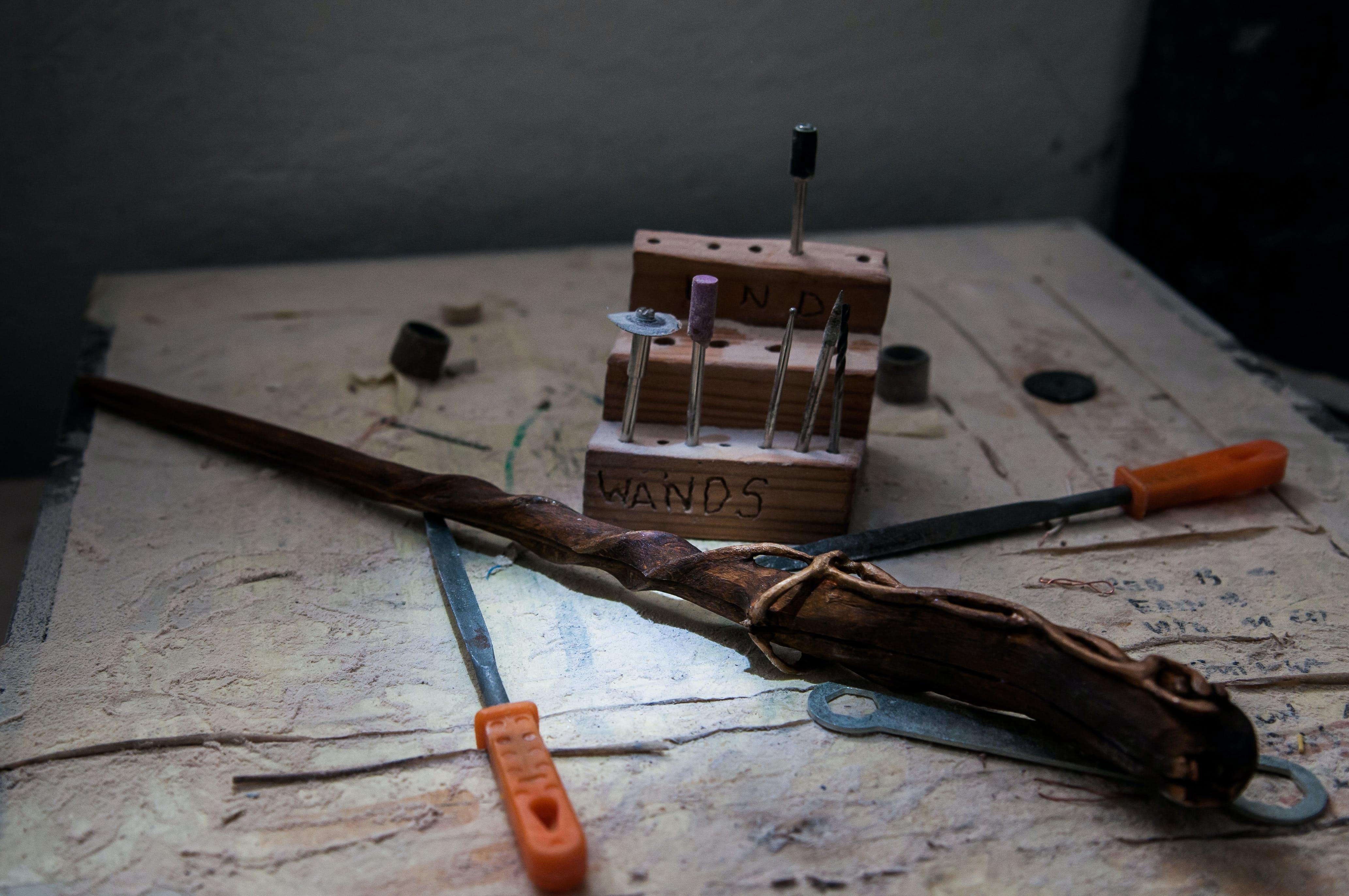 Free stock photo of wood, light, tools, workshop