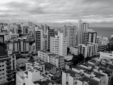 Free stock photo of streets, bw, cities, salvador