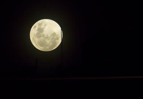 Kostnadsfri bild av fullmåne, jätte, ljus, månsken
