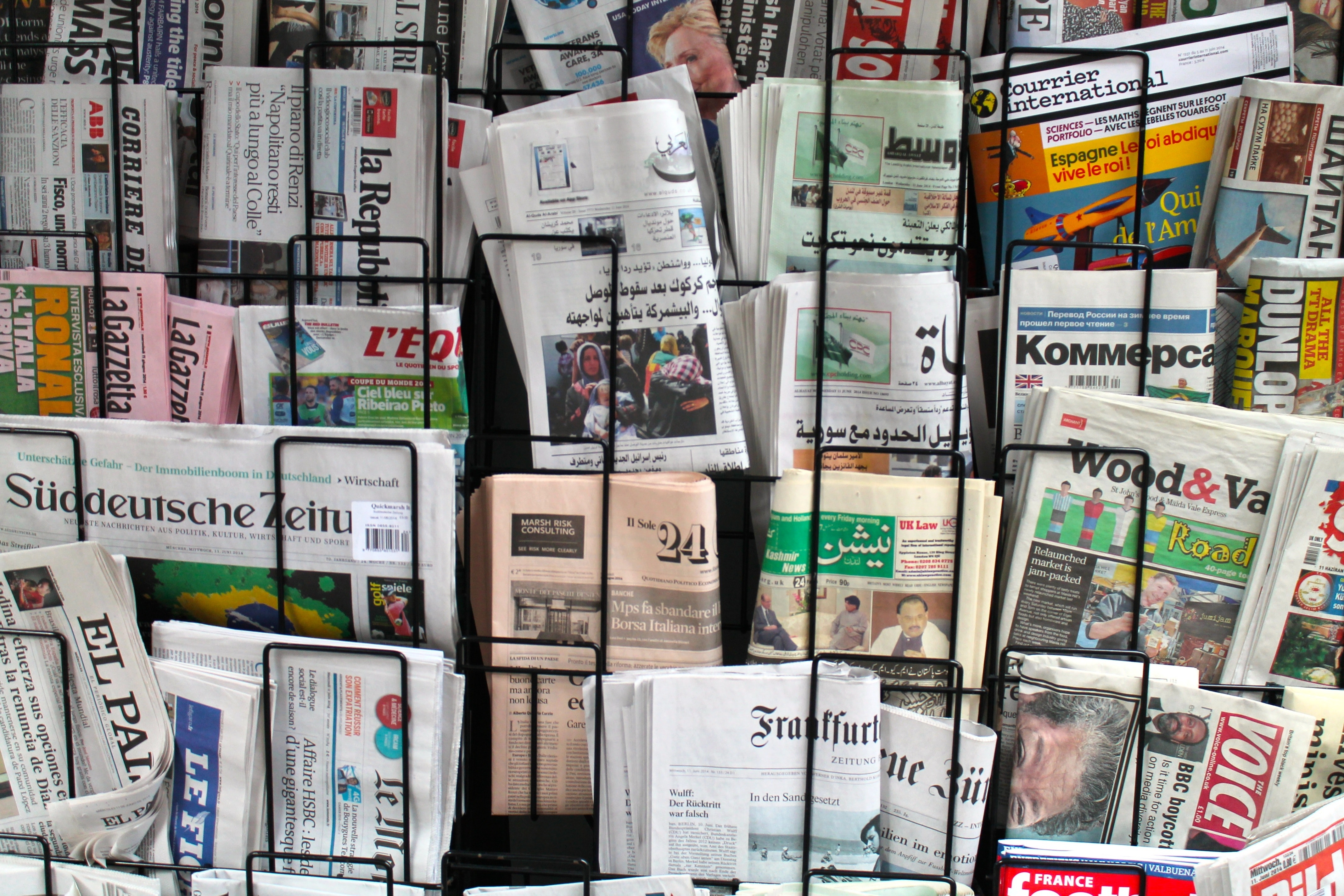 Free stock photo of Fear1ess3, London Diversity, London Newspapers