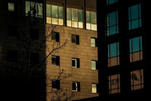 Gratis stockfoto met architectuur, binnenstad, contrast