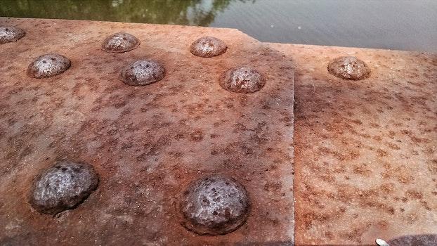 Free stock photo of water, bridge, rust, old
