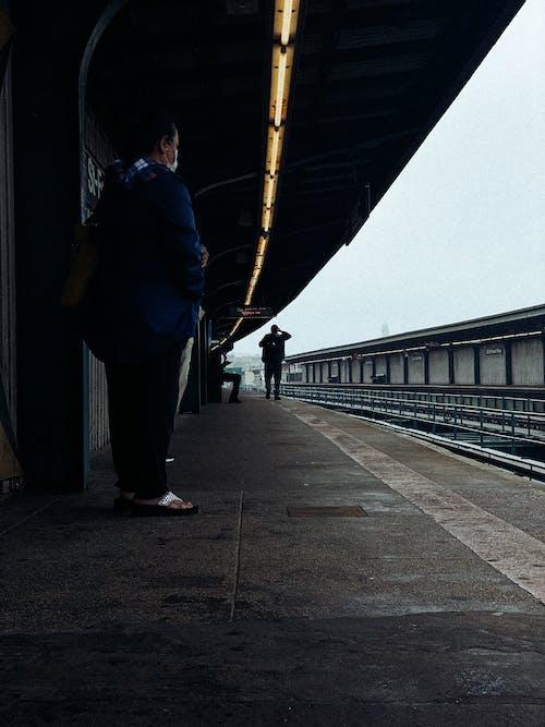 Free stock photo of adult, airport, bridge
