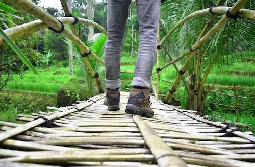 Безкоштовне стокове фото на тему «міст, ноги, трекінг, ходьба»