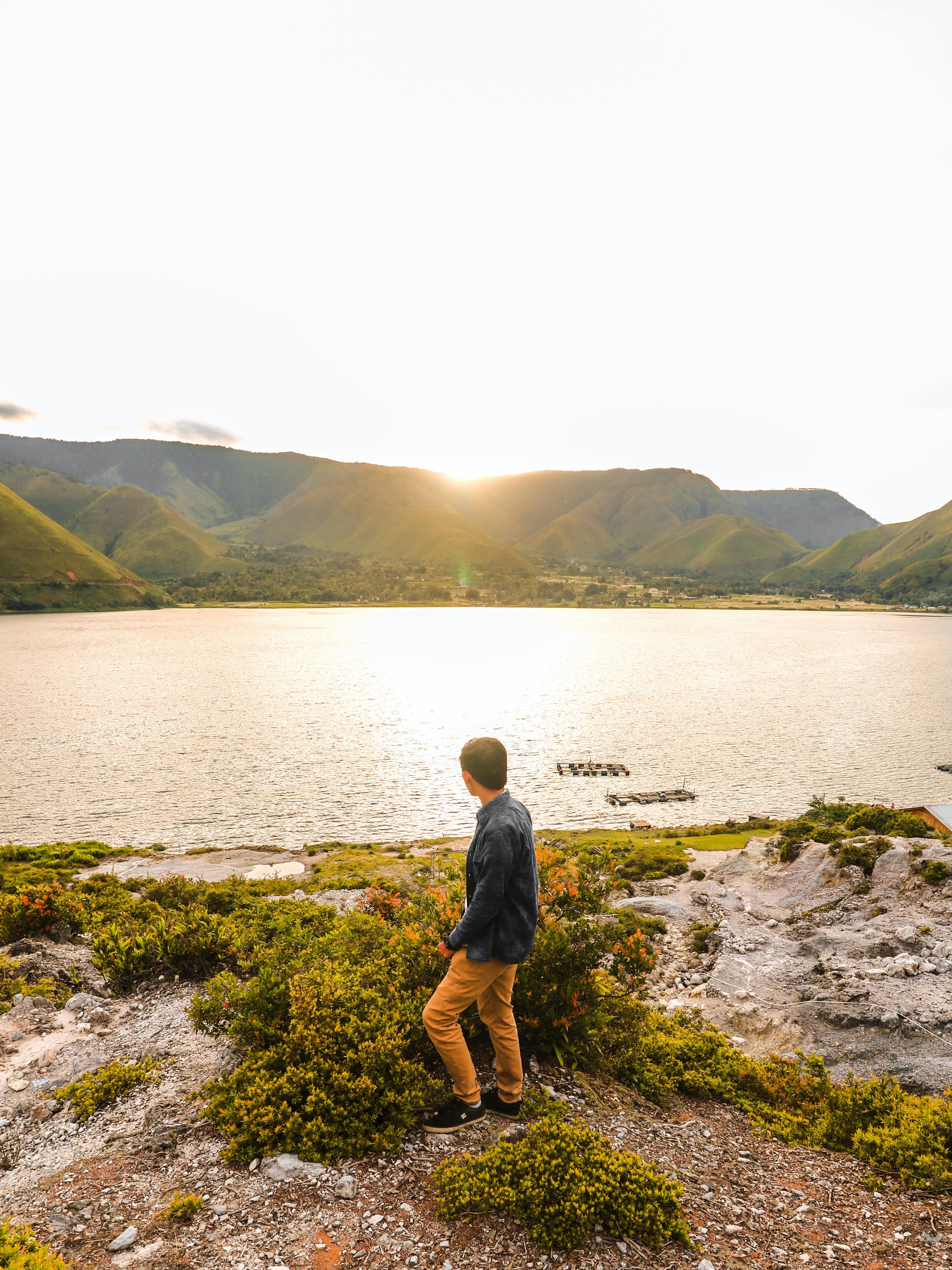 Základová fotografie zdarma na téma Asie, denní světlo, hora, indonésie