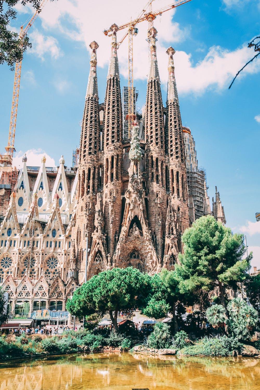 Tourist Activities in Barcelona, Spain