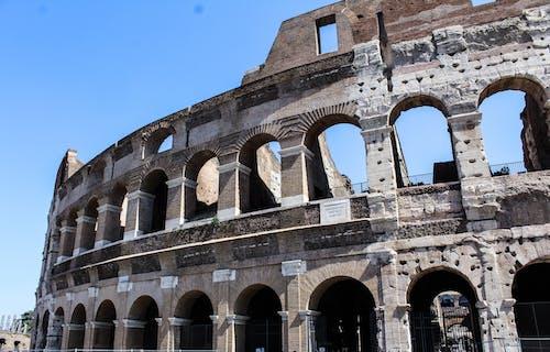 kalıntılar, Tarihi bina içeren Ücretsiz stok fotoğraf