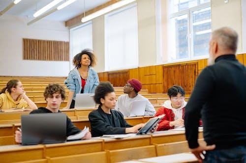 Ingyenes stockfotó beltéri, csoport, diákok témában