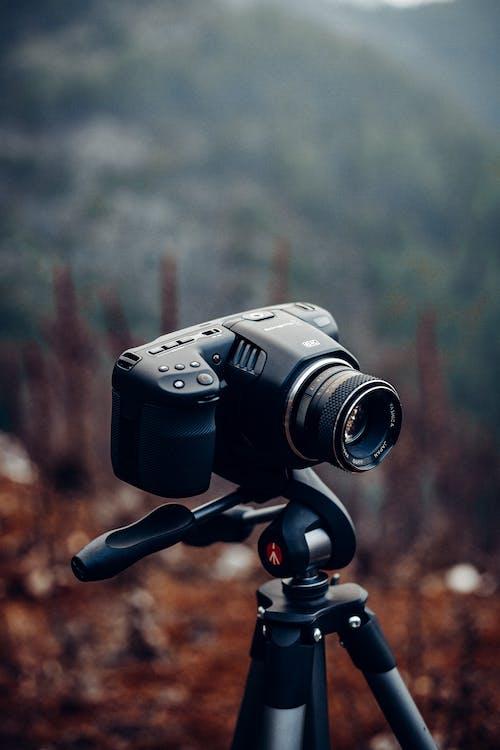Foto profissional grátis de aparelhos, câmera, configuração