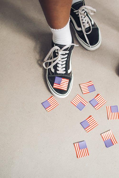 Základová fotografie zdarma na téma 4. července, boty, Den nezávislosti
