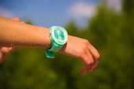 hand, wristwatch, time