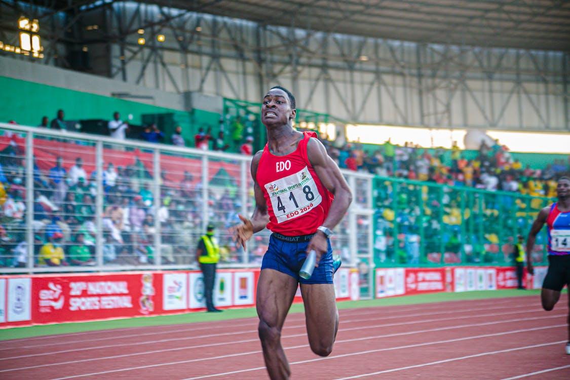 Free stock photo of action energy, athlete, athletics