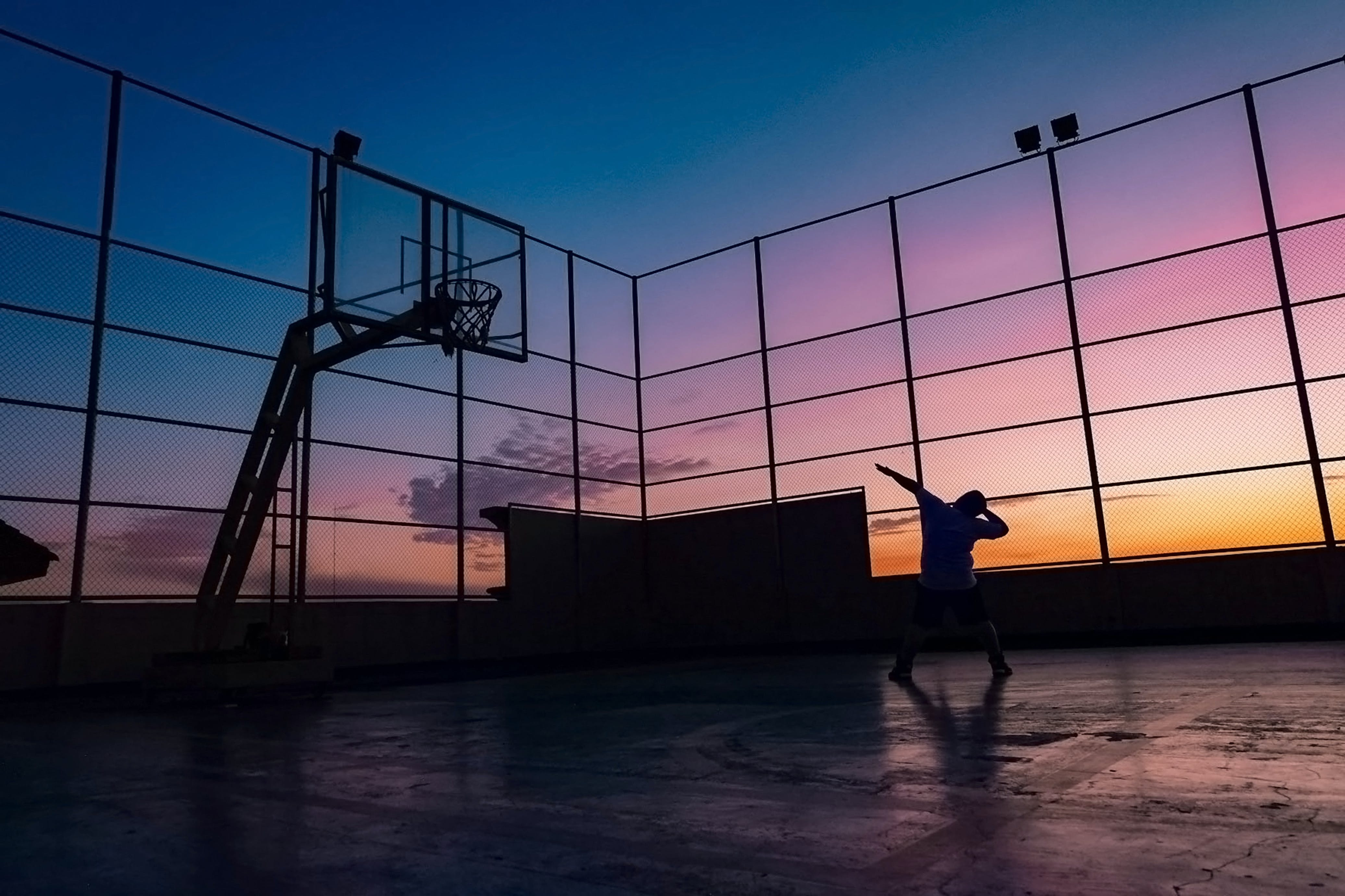Free stock photo of basketball, colorful, fitness, game
