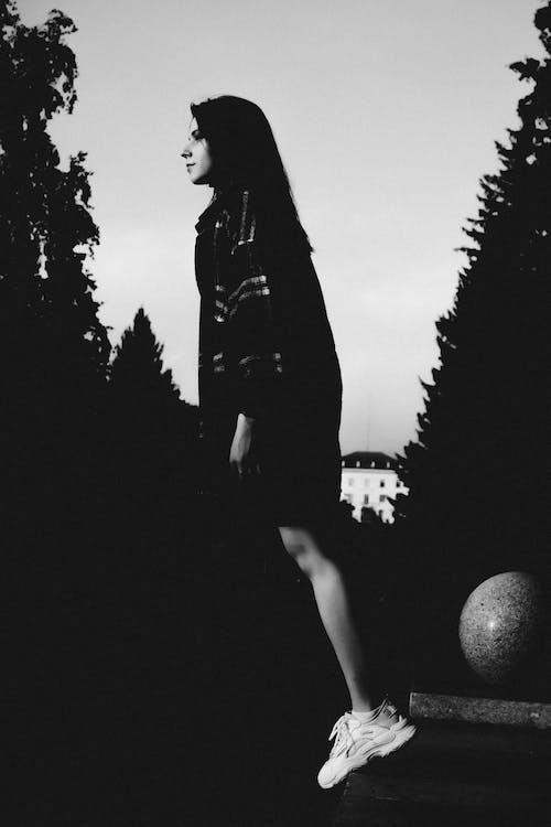 Free stock photo of adult, art, backlit