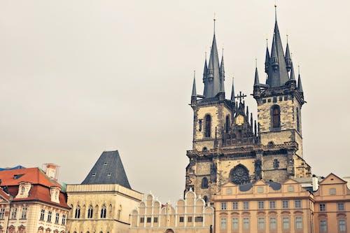 건물, 건축, 경치, 고딕 스타일의 무료 스톡 사진