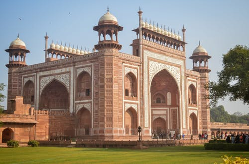 Gateway to Taj Mahal Mausoleum