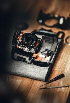 Photography of Broken Camera