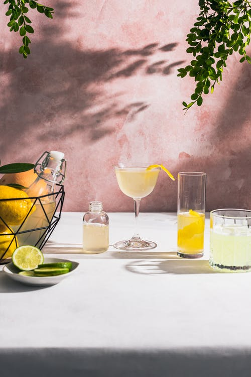 Free stock photo of alcoholic drink, bowl of fruits, citrus fruits
