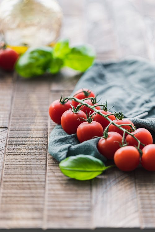 Free stock photo of basil, bright, cherry