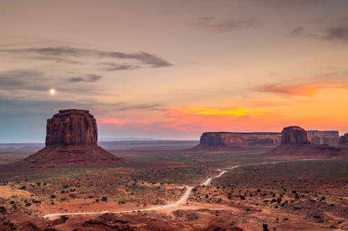 Free stock photo of arid, canyon, clear sky