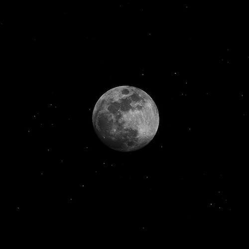 Бесплатное стоковое фото с Астрология, Астрономия, кратер, луна