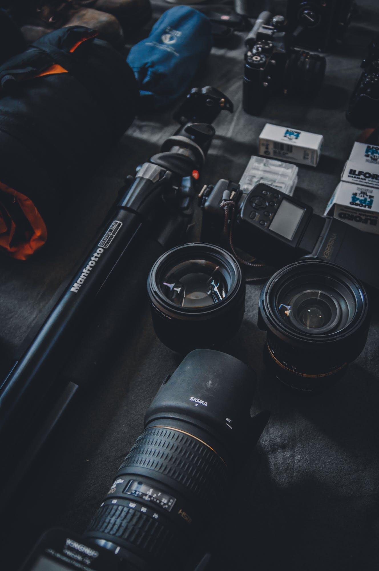 Free stock photo of camera, photography, technology, lens