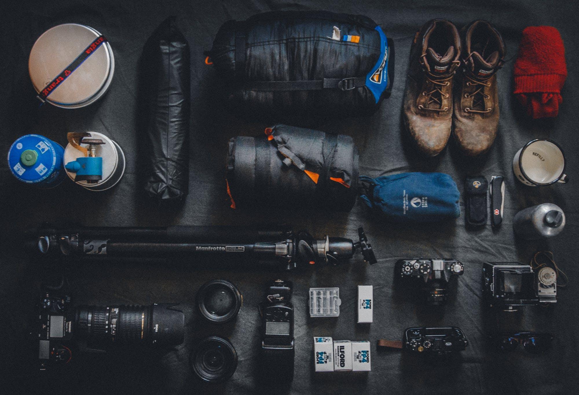 ausrüstung, bildschirm, display