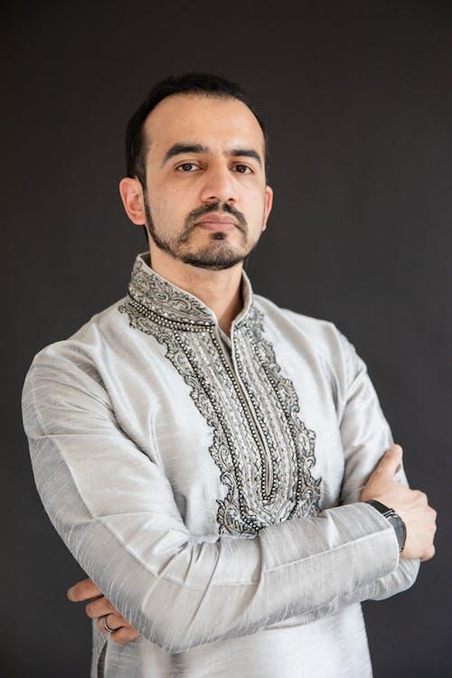 Man in Traditional Wear