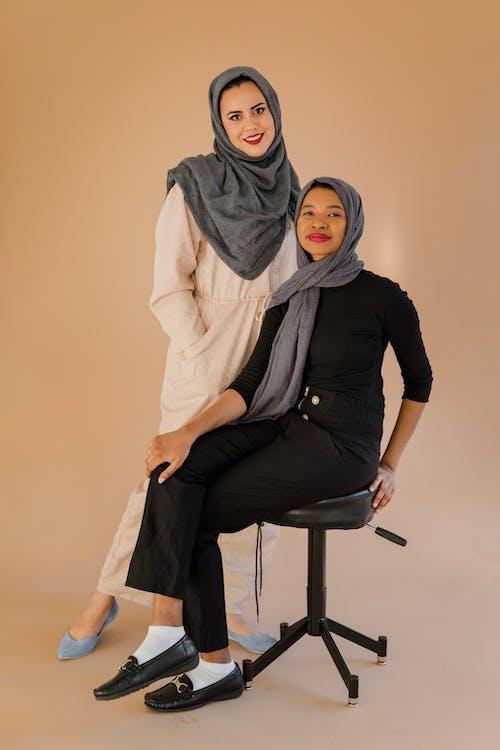 Imagine de stoc gratuită din arab, eșarfă, femei