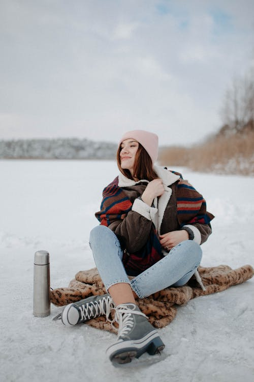 Free stock photo of child, cold, fall