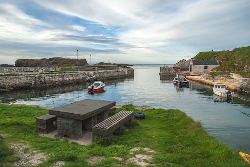 ballintoy, ballintoy harbor, ulster의 무료 스톡 사진
