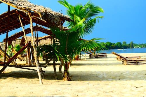 Imagine de stoc gratuită din apă de vacanță, apus, beac, cer