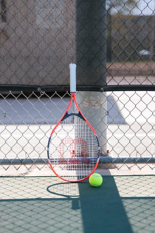 Immagine gratuita di attrezzatura sportiva, ombra, palla da tennis