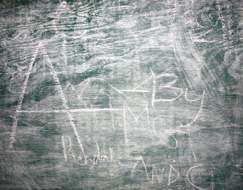 Darmowe zdjęcie z galerii z kreda, tablica, tekstura, tło