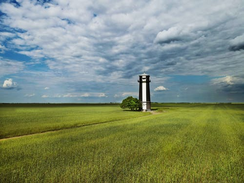 Lighthouse in the Middle of the Field