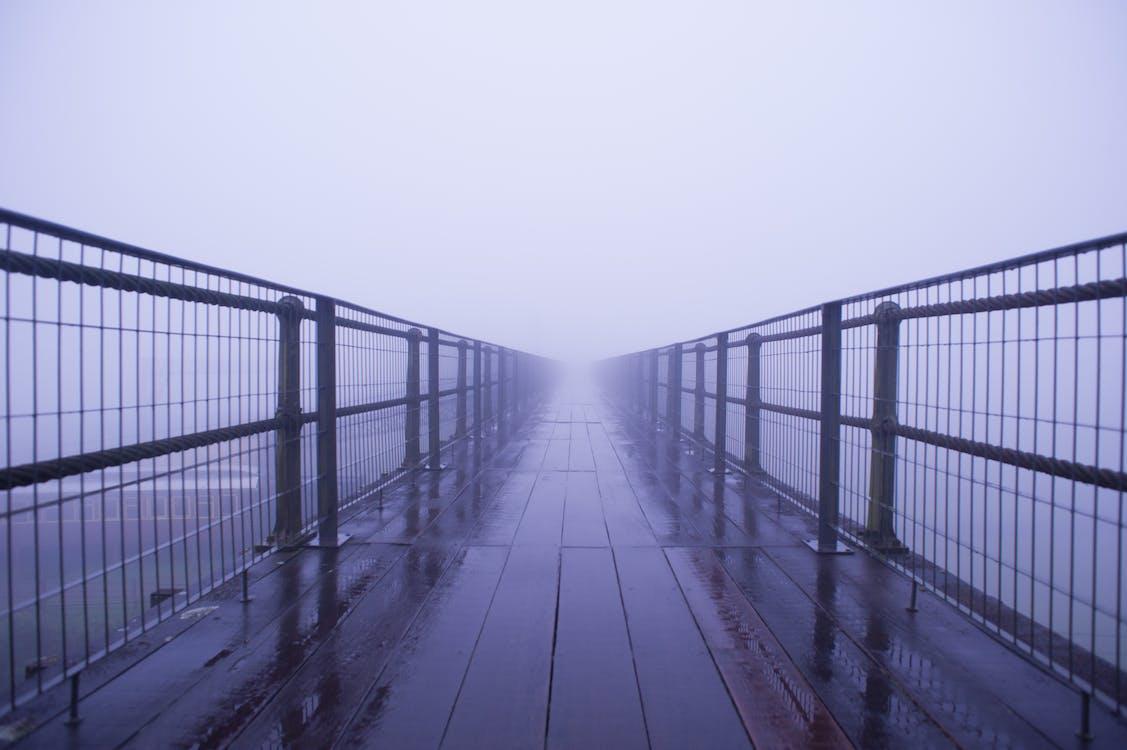 bridge, dark, dark blue