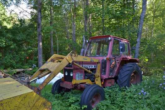 Free stock photo of nature, tractor, rust, outdoors