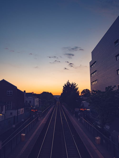 Free stock photo of afterglow, architecture, bridge