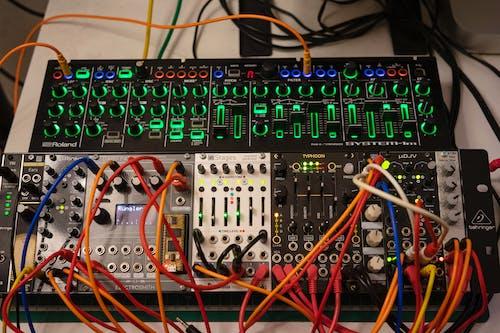 Free stock photo of electronics, modular, music