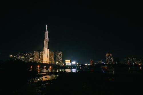 Ingyenes stockfotó 81. mérföldkő, belváros, éjszaka témában