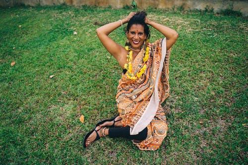Free stock photo of adult, beautiful, diwali