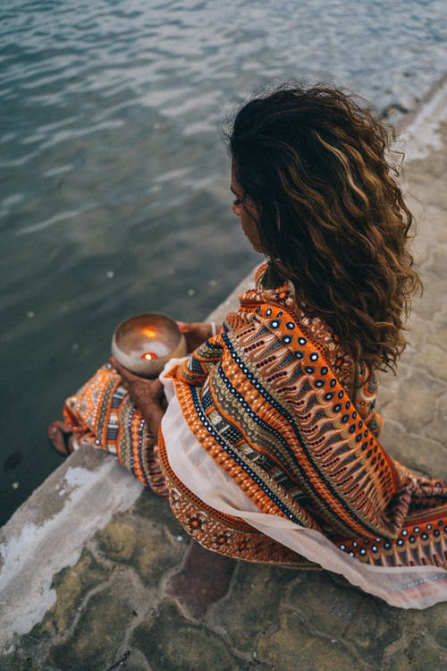 Free stock photo of adult, beach, candles