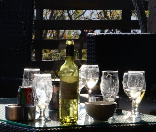 グラスを飲む, パーティー, 白ワインの無料の写真素材